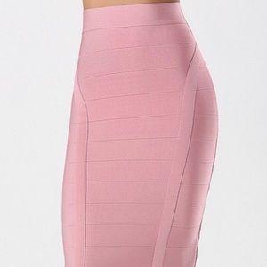 Bebe Midi SZ M Bandage dress